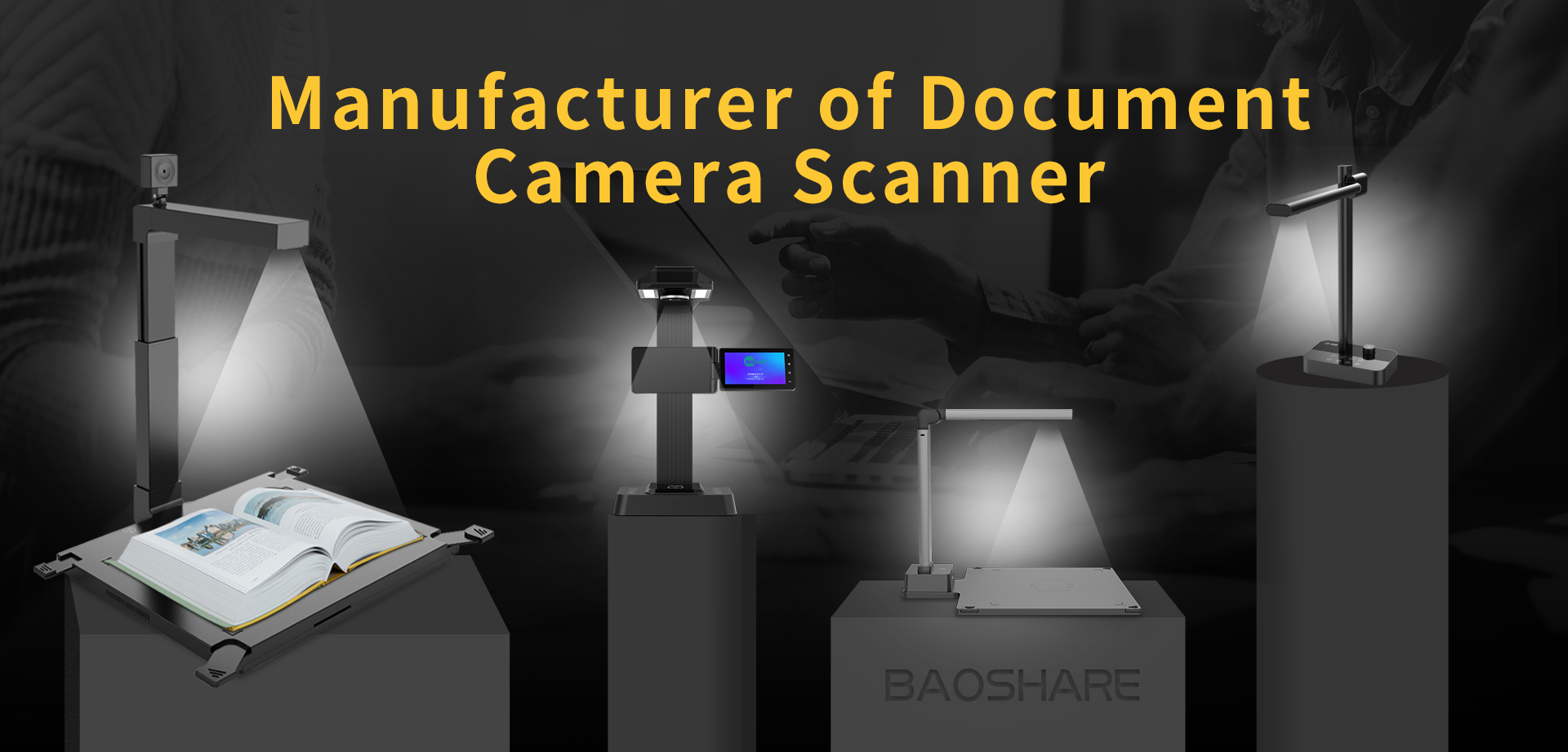 Document Camera Scanner