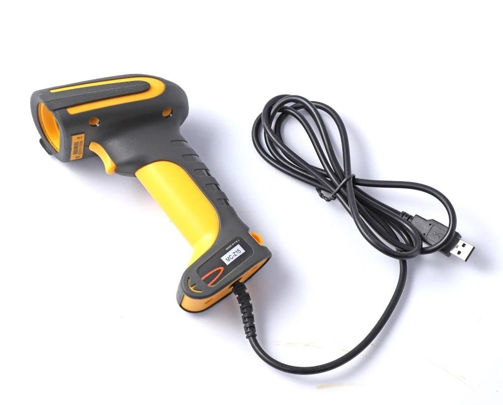 Baoshare MC-Z15 wired 1d 2d QR code reader, waterproof wired barcode scanner