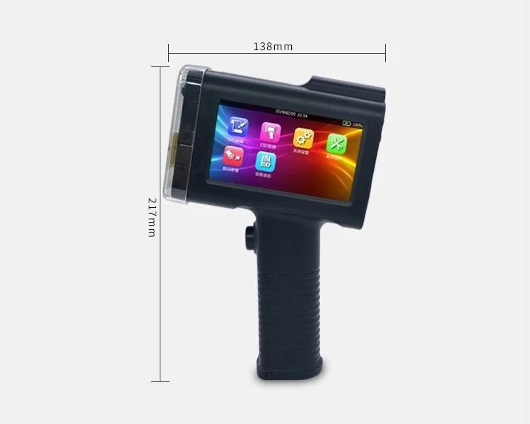 BaoShare BX-H20 Portable Handheld screen Date Batch Code Inkjet Printer, Product Code Printing Machine