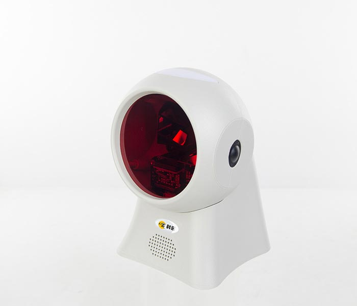 PT-688 omnidirectional 1D laser barcode scanner desktop barcode reader 1500 scans/s auto-induction scanner