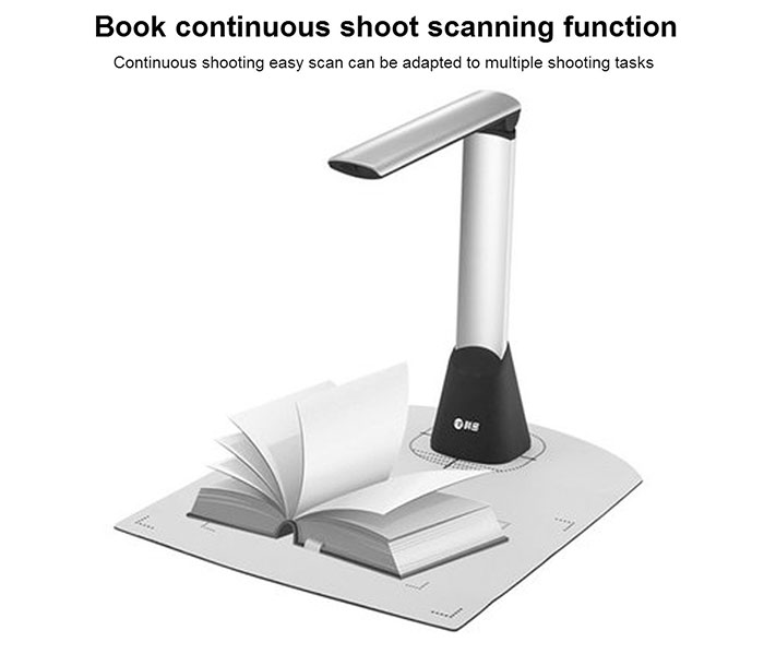 Comet GP-500 A4 Portable Folding Document Scanner Document Cameras