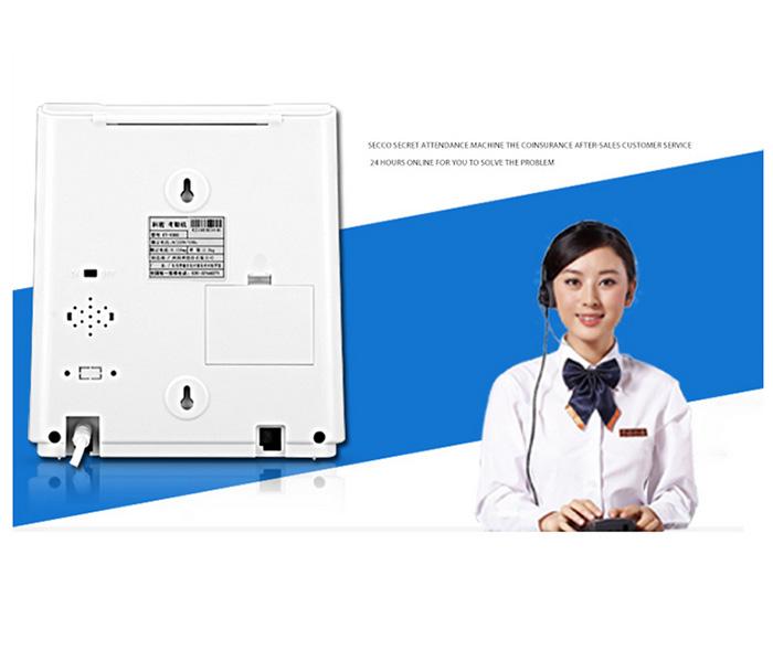 Most competitive dot matrix printing attendance machine ET-9300