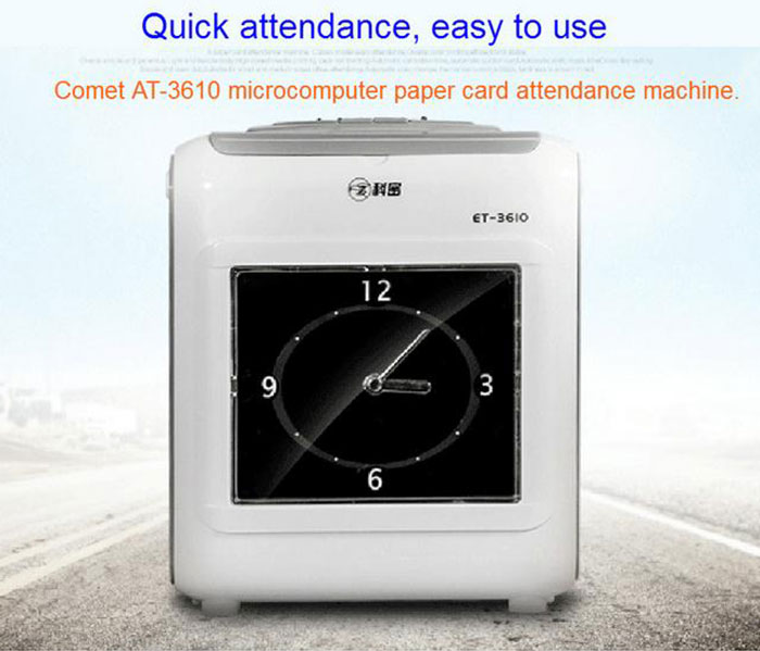 Fashion design fast identification biometric time attendance system/machine