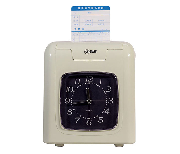 Portable electronic time recorder clock attendance system for employee attendance tracking