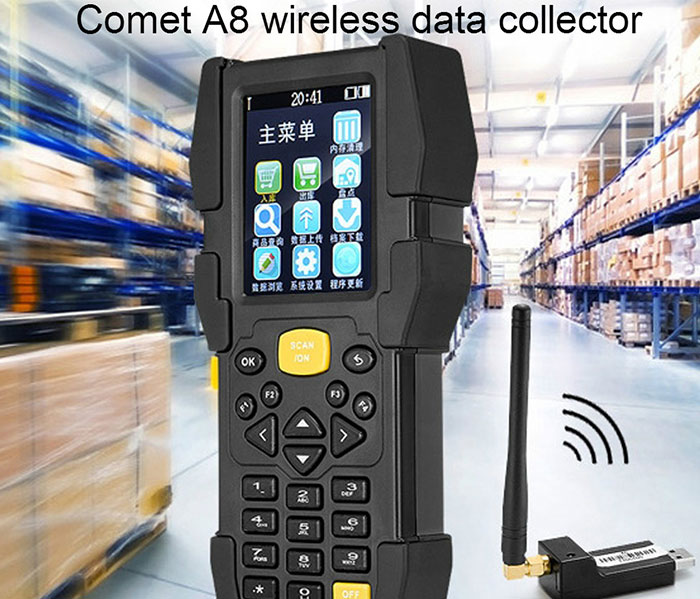 Android Pos Terminal With Printer 2.8 Inch Touch Screen Wireless Fingerprint Sensor