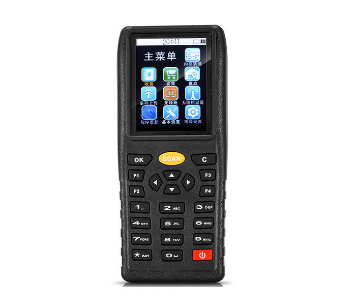 Industrial Pda Android Handheld Computer with Wifi Mobile Inventory Data Collector Laser Head PDA