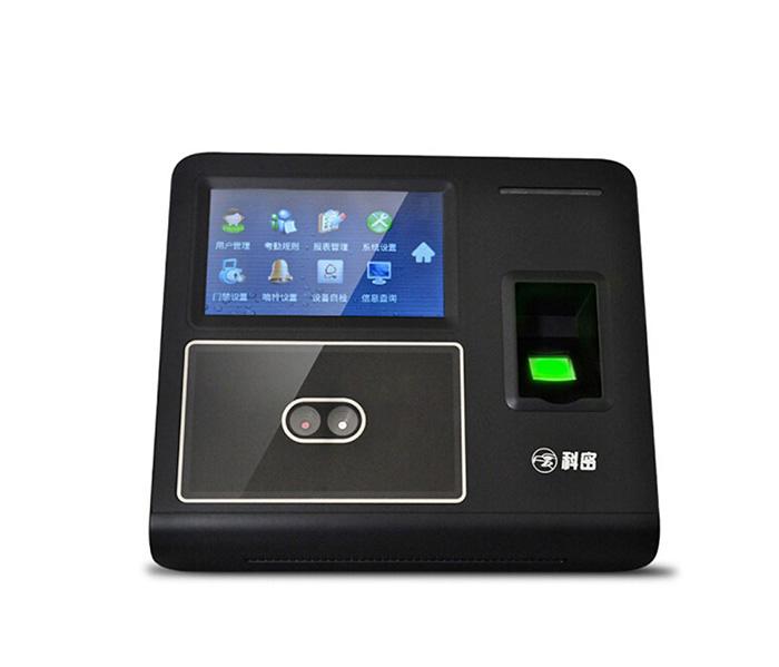DF702 Comet Face Recognition Fingerprint time Recording attendance machine with access control function