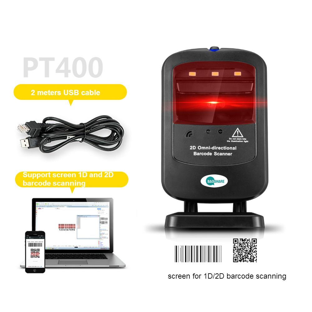 Modern Design 2D Scanner Platform Supermarket Cashier Equipment for APP