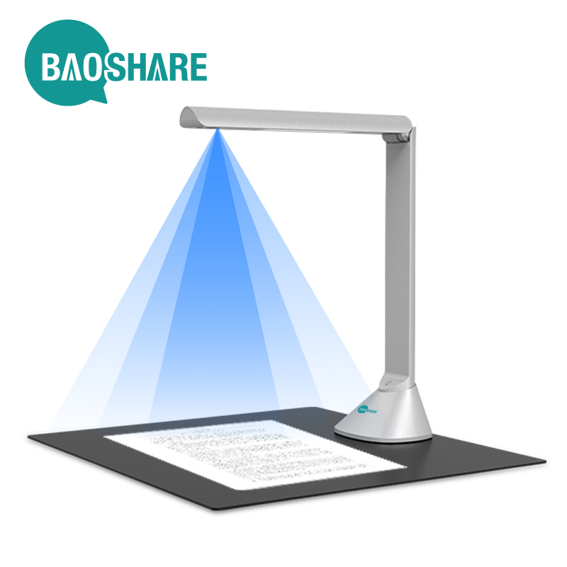 BaoShare GP1080F 18MP A3 OCR PDF Portable Document Scanner Automatic Book Scanner