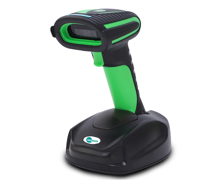 IP65 Waterproof Bluetooth and 2.4G Handheld QR Code Scanner Wireless 2D Barcode Scanner With Charging Base