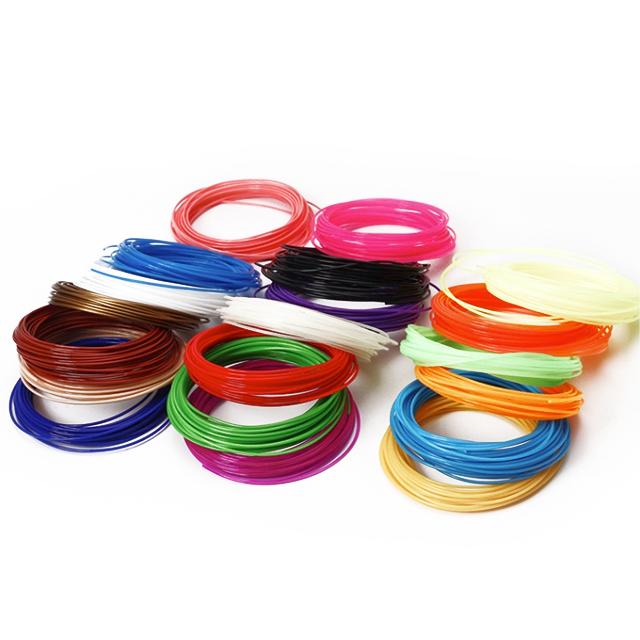 3d printer PCL filament 3d pen for kids filament refills 1.75mm PCL multi colors for 3d printer pen