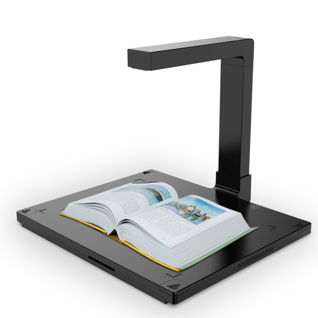 Factory Excellent Quality Desktop A3 Document Camera Scanner 16mp OCR Book Scanner Document Management