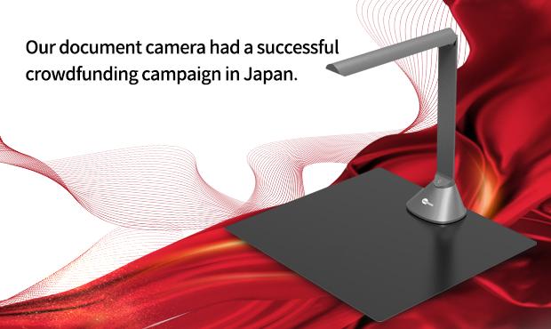 Successful Case for Document Camera Scanner GP1080A Campaign